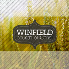 Winfield, Kansas small business and church website design and management. Winfield church of Christ.