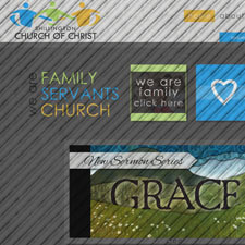 Shillington, Pennsylvania custom, responsive website design. Shillington Church of Christ.
